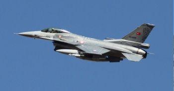 MSB: Kuzey Irak'ta PKK'ya hava operasyonu