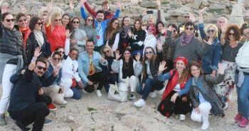 Nemrut Dağı ünlüleri ağırladı