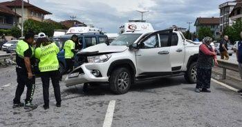 Sakarya'da zincirleme kaza: 6 yaralı