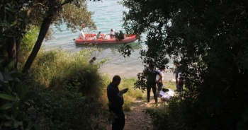 Seyhan Baraj Gölü'nde erkek cesedi bulundu