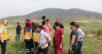 Siirt'te yolcu minibüsü takla attı: 9 yaralı