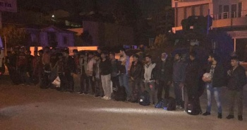 Tekirdağ'da 27 kaçak göçmen yakalandı