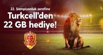 Turkcell'den Galatasaray taraftarlarına şampiyonluk sürprizi