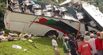 Uganda'da trafik kazası: 19 ölü, 6 yaralı
