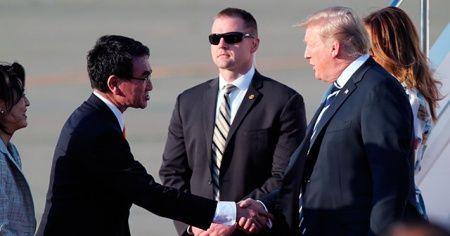 ABD Başkanı Trump, Japonya'da