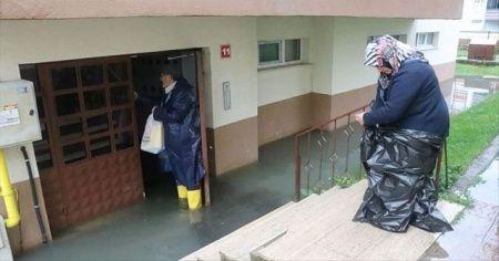 Bolu'da sağanak su baskınlarına yol açtı