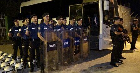 Bursaspor'un tesislerinde yoğun güvenlik önlemi
