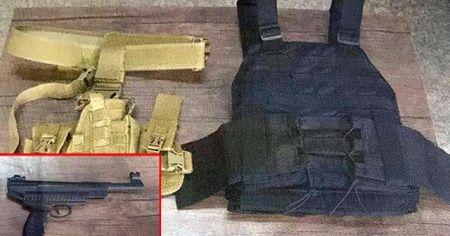 Çelik yelekle yakalanan DEAŞ'lı terörist tutuklandı
