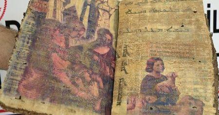 Diyarbakır'da bin 400 yıllık kitap ele geçirildi