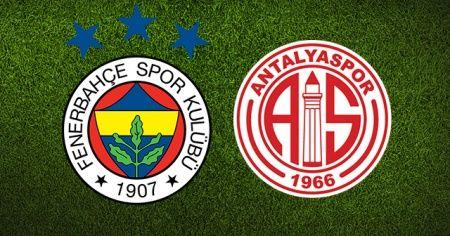 Fenerbahçe Antalyaspor 3-1 Maçı özeti ve golleri İzle! FB Antalya Maçı Kaç Ka bitti?