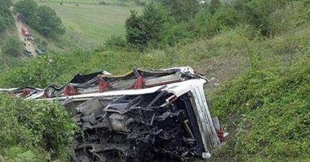 Filipinler'de otobüs uçuruma düştü: 9 ölü