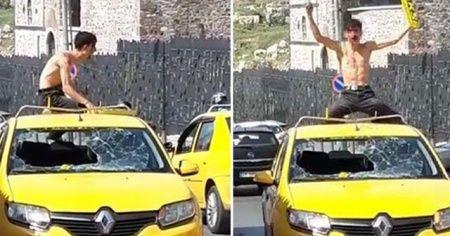 İzmir'de korku dolu anlar! Ortalığı birbirine kattı