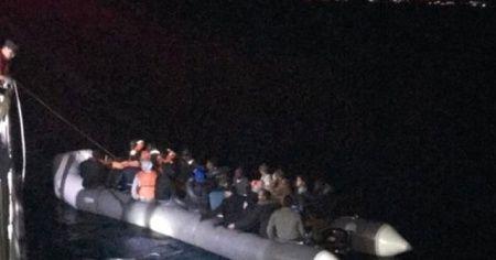 Kuşadası'nda 36 kaçak göçmen yakalandı