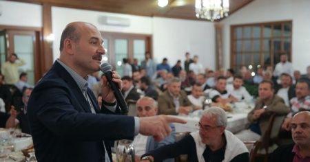 Süleyman Soylu: Ben siyasi hayatımda böyle bir şey görmedim