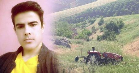 Traktörden düşen sürücü hayatını kaybetti