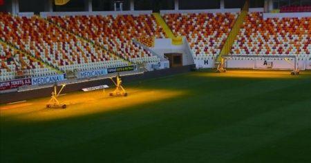 UEFA ve TFF yetkilileri Yeni Malatya Stadı'nı denetlendi