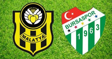 Yeni Malatya- Bursaspor Maçı özeti ve golleri İzle! Yeni Malatya- Bursaspor  Maçı Kaç Ka bitti?