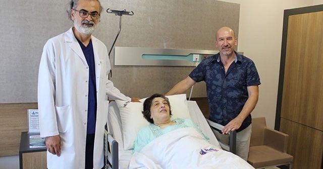 'Nefes alamıyorum' deyip doktora gitti! Karnından 10 kiloluk kist çıktı