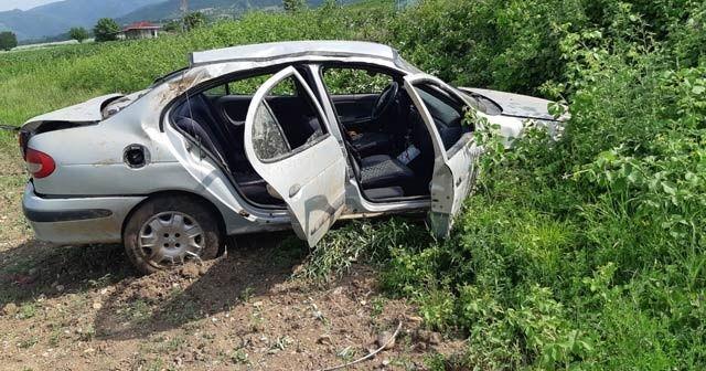 15 yaşındaki sürücü kaza yaptı: 3 yaralı