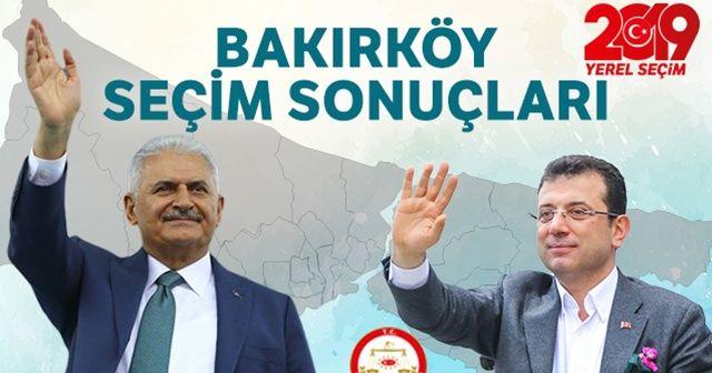 23 Haziran 2019 Bakırköy seçim sonuçları! Bakırköy'de seçimi kim kazandı?