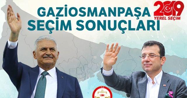 23 Haziran Gaziosmanpaşa seçim sonuçları! Gaziosmanpaşa'da Binali Yıldırım mı Ekrem İmamoğlu mu önde?