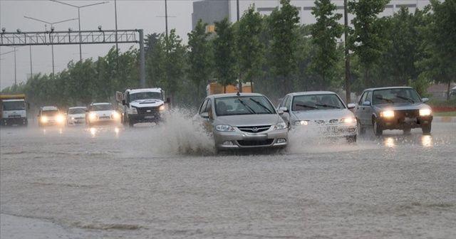 5 il için kuvvetli yağış uyarısı