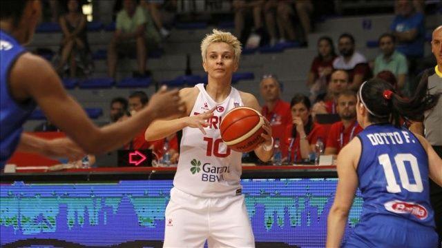 A Milli Kadın Basketbol Takımı ilk maçında mağlup oldu