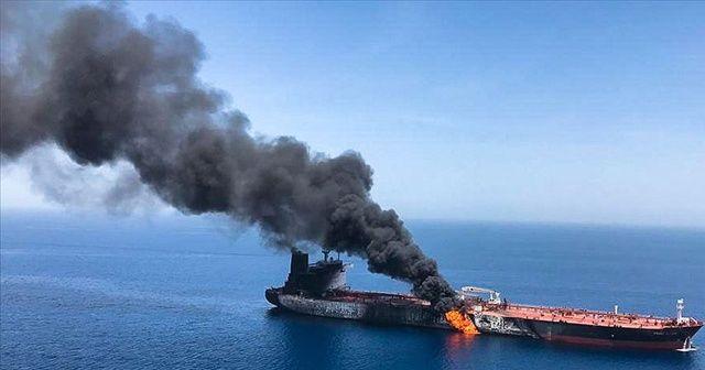 ABD Merkez Kuvvetler Komutanlığı'ndan Umman Körfezi'ndeki saldırılara ilişkin açıklama
