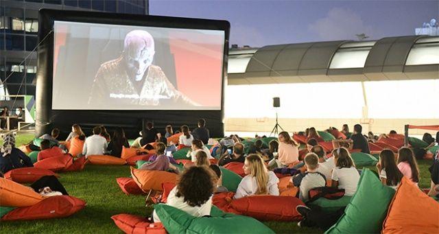 Akmerkez açık hava sinemaları başlıyor
