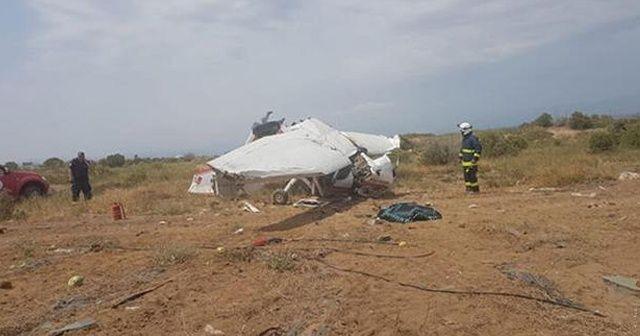 Antalya'daki uçak kazasında ölü sayısı 2'ye yükseldi