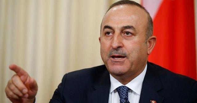 Bakan Çavuşoğlu'ndan Doğu Akdeniz mesajı