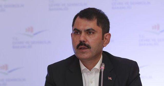 Bakan Kurum: Aynı anda 50 bin kentsel dönüşüm projesi başlatacağız