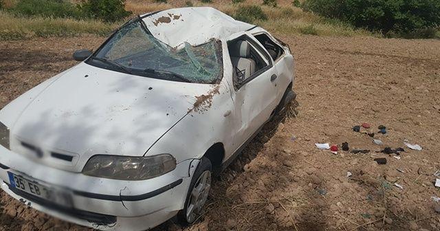Bayram ziyareti dönüşü kaza: 4 yaralı