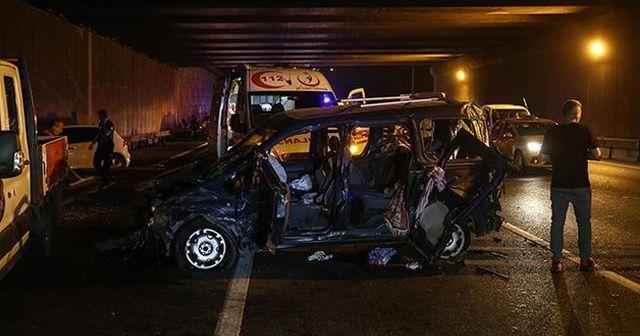 Beşiktaş'taki kaza nedeniyle aranan baba oğul yakalandı