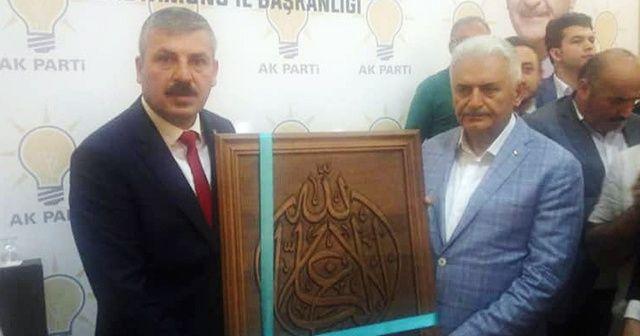 Binali Yıldırım'dan, AK Parti İl Teşkilatına teşekkür