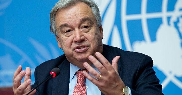 """BM Genel Sekreteri Guterres : """"Dünyanın göze alamayacağı bir şey varsa, Körfez bölgesinde bir çatışmadır"""""""