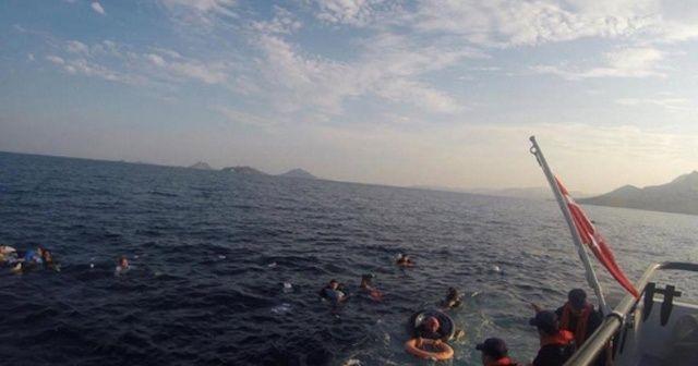 Bodrum düzensiz göçmenleri taşıyan tek ne battı: 31 yaralı, 8 ölü