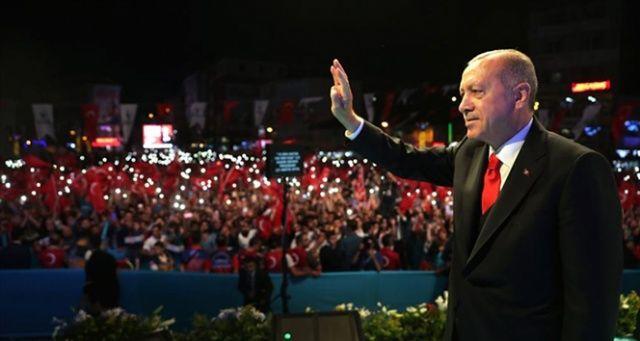 Cumhurbaşkanı Erdoğan: 'Burası İstanbul, konstantinopol değil, burayı böyle görmek isteyenlere karşı 22 günümüz var'