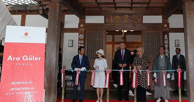 Cumhurbaşkanı Erdoğan, Japonya'da Ara Güler Sergisi'nin açılışını yaptı