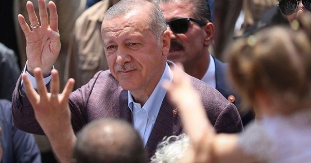 Cumhurbaşkanı Erdoğan seçim sonuçlarını Vahdettin Köşkü'nden takip ediyor