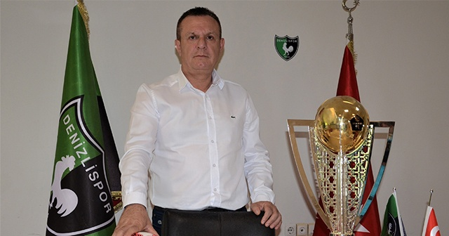 Denizlispor'da hedef ilk beş