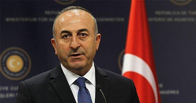"""Dışişleri Bakanı Çavuşoğlu: """"S-400 alımından vazgeçmemiz mümkün değil."""""""
