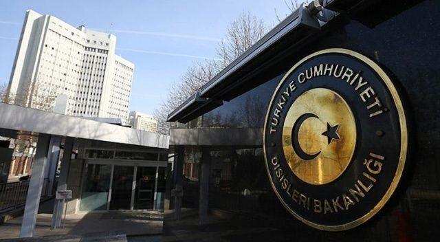 Dışişleri Bakanlığı: Abha Havalimanı'na düzenlenen füze saldırısını kınıyoruz
