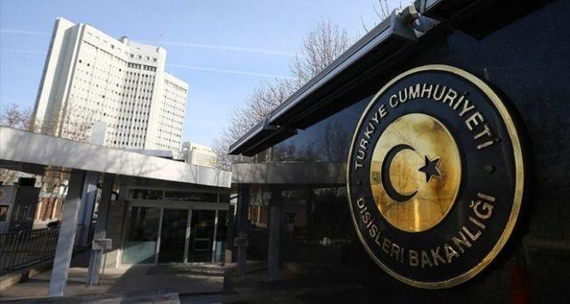 Dışişleri Bakanlığı'ndan ABD Temsilciler Meclisi'nin kararına tepki
