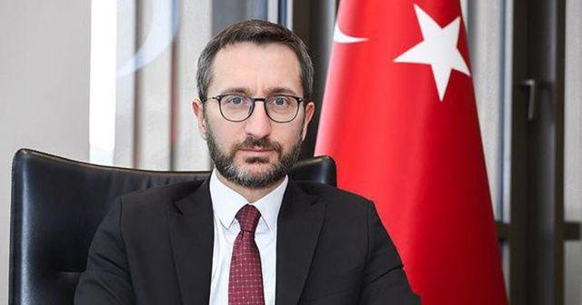 """Fahrettin Altun: """"Terörün kökünü kazıyana kadar durmayacağız"""""""