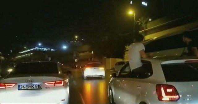 İstanbul'da asker eğlencesinde ortalığı birbirine katan magandalar yakalandı