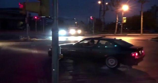 İstanbul'da 'drift' terörü