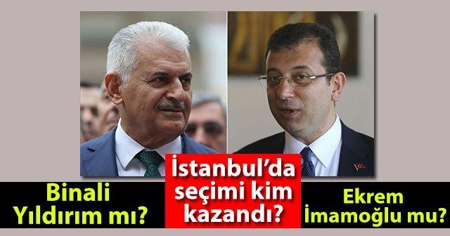 İstanbul'da seçimi kim kazandı? Binali Yıldırım mı? Ekrem İmamoğlu mu? İstanbul son dakika kesin seçim sonuçları oy oranı