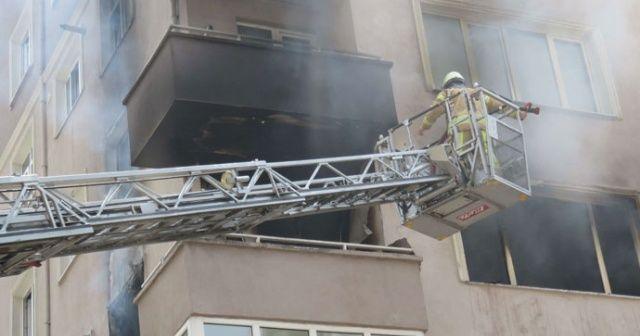 Kadıköy'de yangın faciası! Anne ve baba öldü, engelli oğulları kurtarıldı