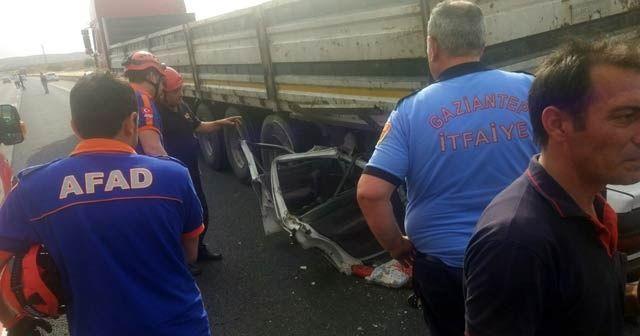 Kahramanmaraş'ta trafik kazası 1 ölü, 7 yaralı